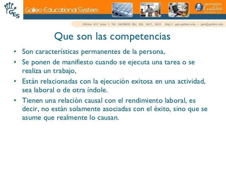 Competencias, Destrezas Y Habilidades Slide 2