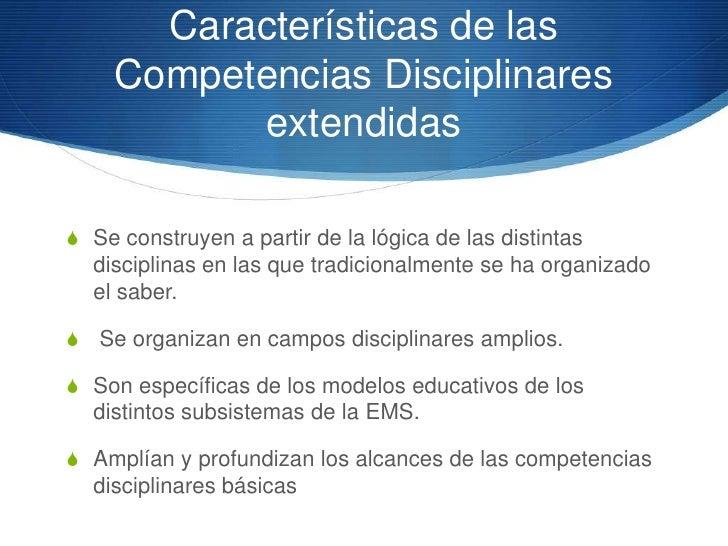 Competencia disciplinar         extendidaS Materia: Comprensión lectora y Redacción IIS Competencias disciplinar extendida...
