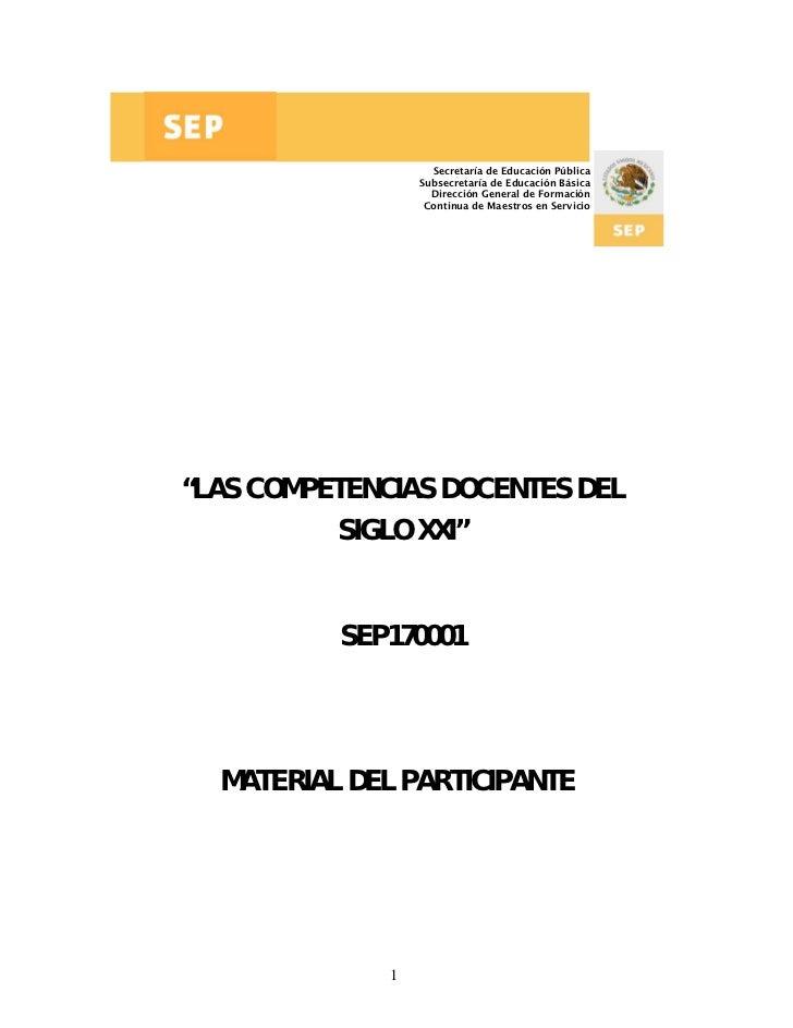 Secretaría de Educación Pública                  Subsecretaría de Educación Básica                    Dirección General de...