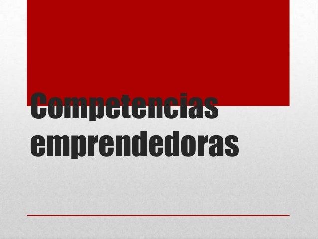 Competenciasemprendedoras
