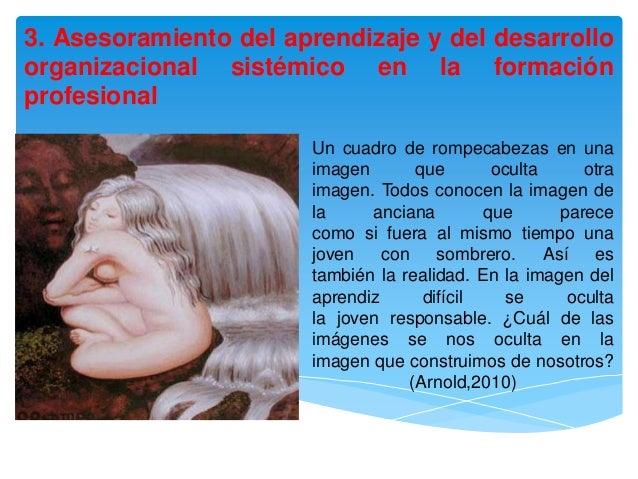 3. Asesoramiento del aprendizaje y del desarrolloorganizacional sistémico en la formaciónprofesional                      ...