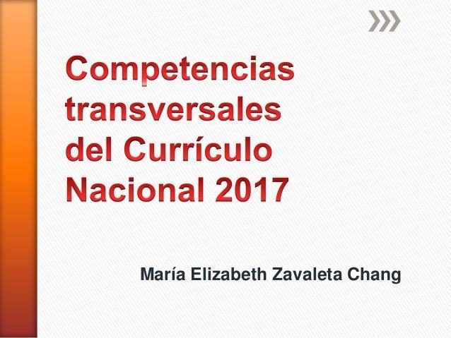 María Elizabeth Zavaleta Chang