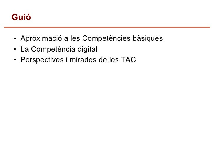 competencies i tac