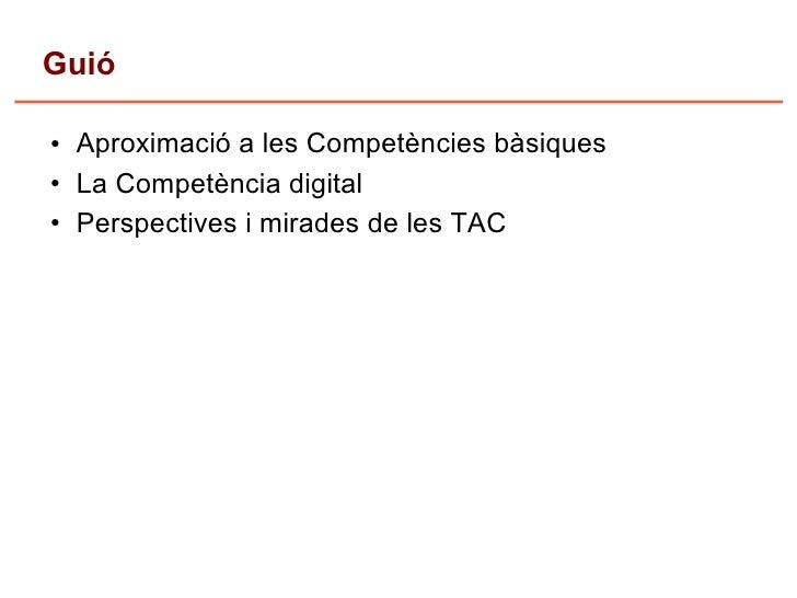 competencies i tac