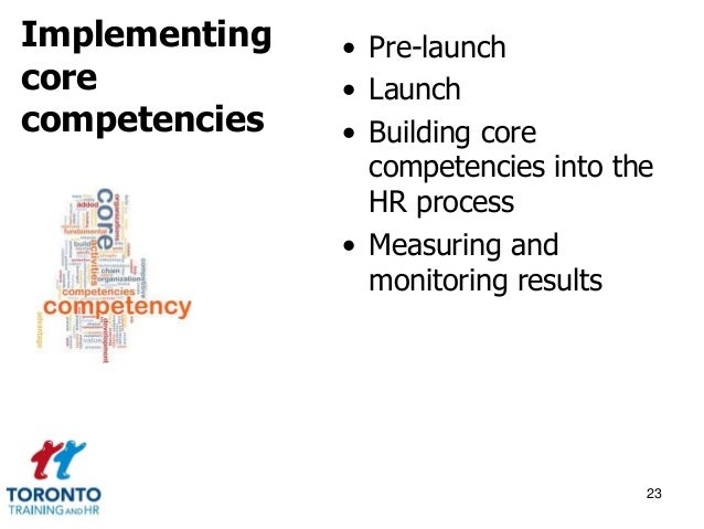 Competencies and competences September 2014
