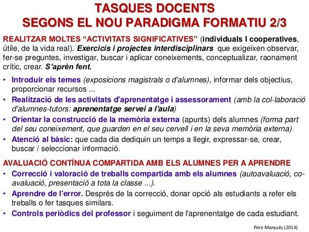 """REALITZAR MOLTES """"ACTIVITATS SIGNIFICATIVES"""" (individuals I cooperatives, útile, de la vida real). Exercicis i projectes i..."""