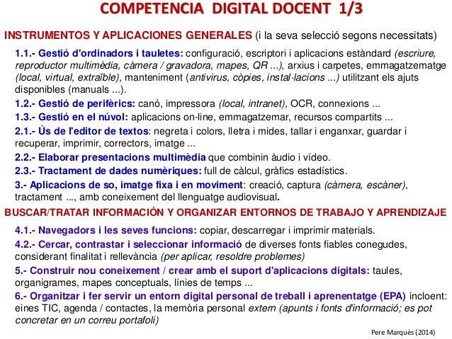 INSTRUMENTOS Y APLICACIONES GENERALES (i la seva selecció segons necessitats) 1.1.- Gestió d'ordinadors i tauletes: config...