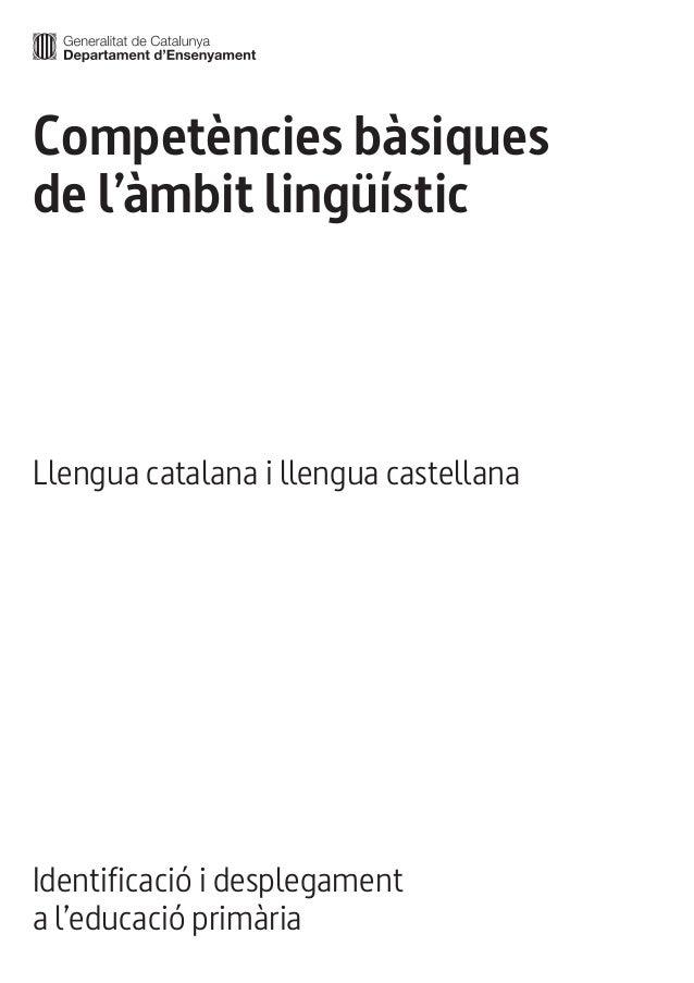 Competencies llengua primaria Slide 2