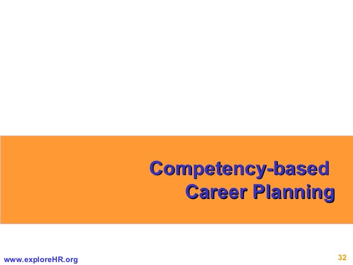 Competency-based  Career Planning