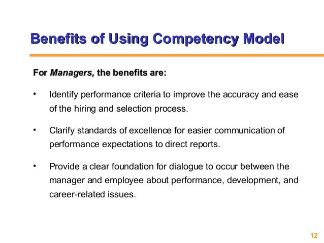 competency in recruitment selection The 5+1 competency model® for assessments, training and development from  hudson talent management.