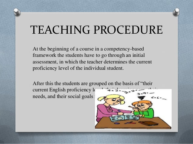 needs analysis procedure in language teaching english language essay Current language teaching approaches the spread of english in the era of globalization has led to a growing need for good communication skills in english hence there is a strong demand for an appropriate teaching methodology.