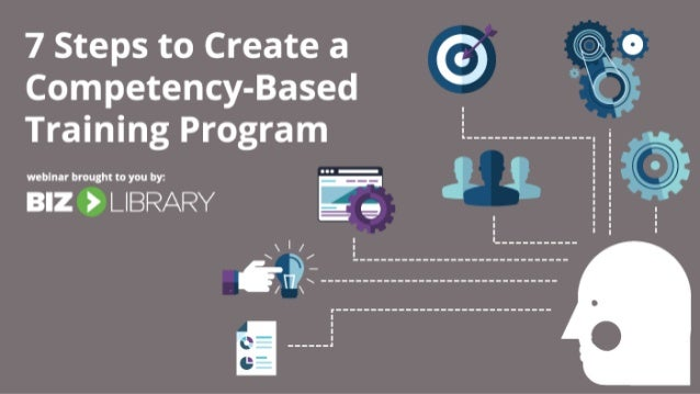 7 steps to create a competency based training program for Steps to start building a house