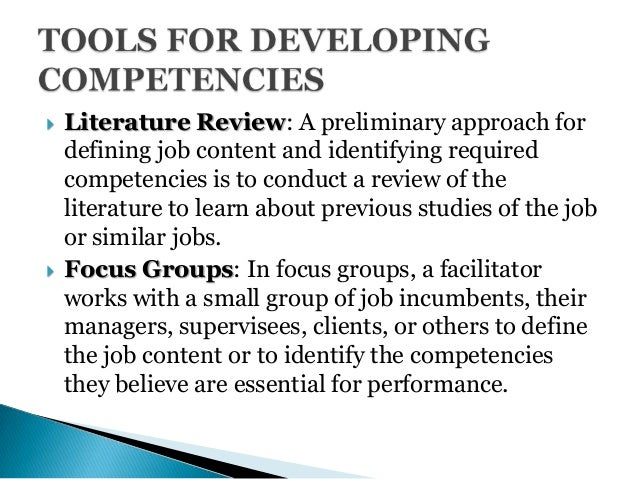 competency mapping project      degree method   Competence  Human     A Study on Competency Mapping and Its Impact   Competence  Human Resources     Expert