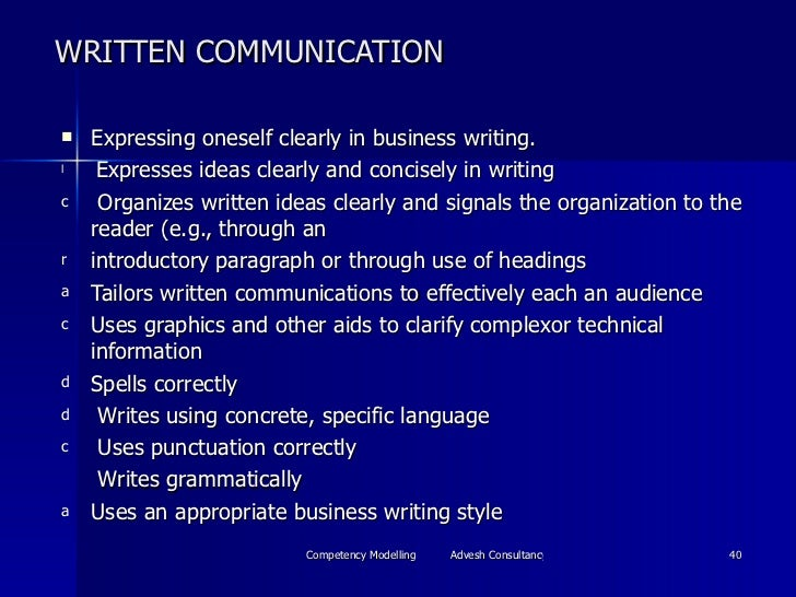 communication competency essay Communication competence essay august 5, 2016 assignment answers an important theme throughout this course has been communication competence, which is the ability to choose a communication behavior that is both effective and appropriate for a given situation.