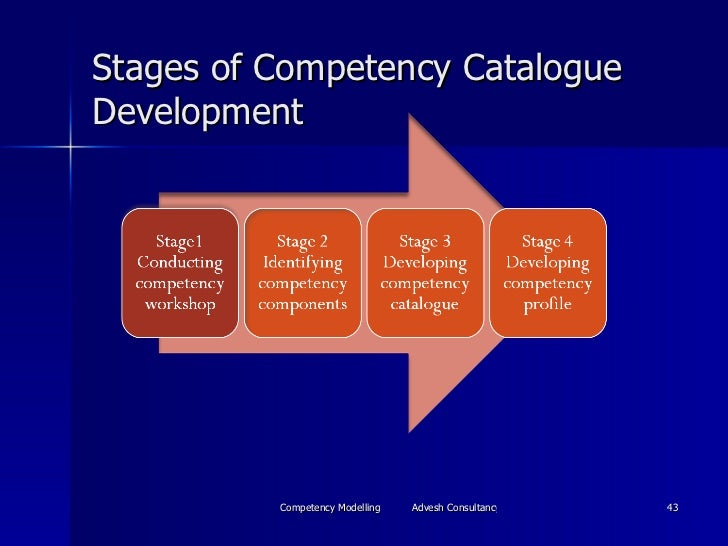 Stages of Competency Catalogue Development