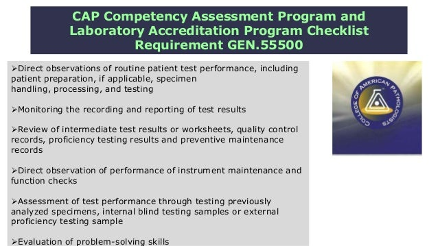 Competency assessment an accreditation requirements (dr.rania el shar…