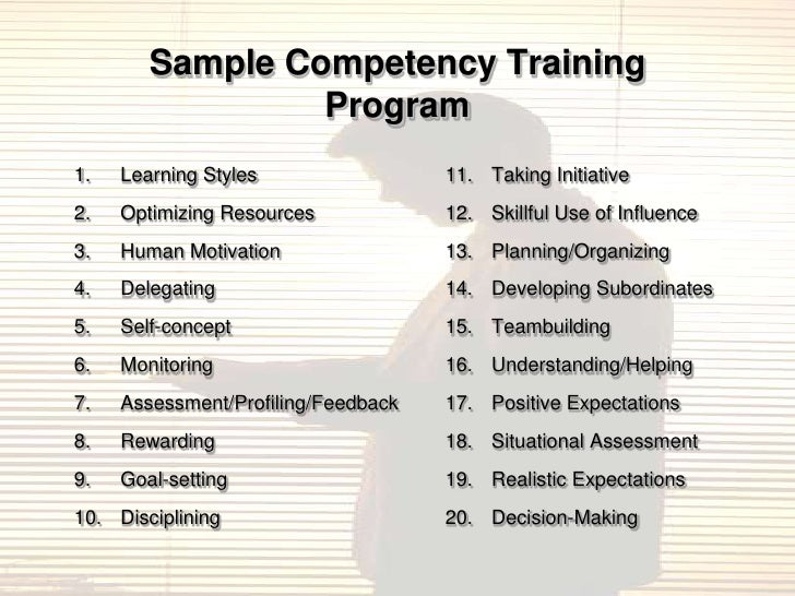 Competency Based HR and Value Creation