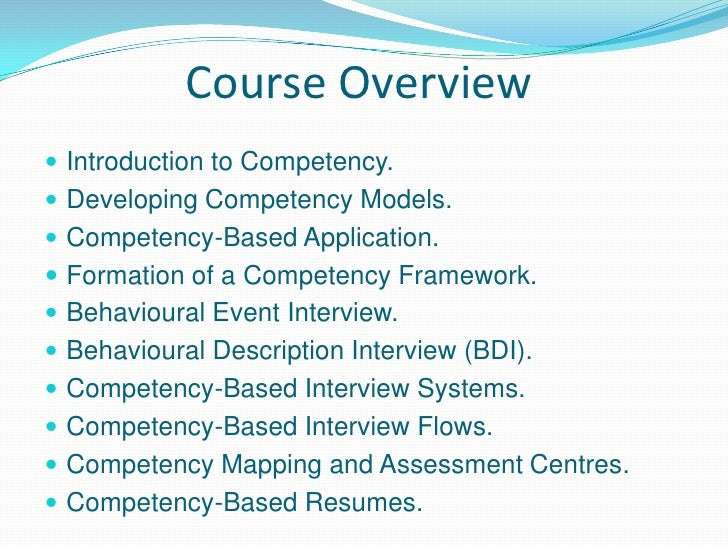 an examination of competency based systems The clinical competency examination  developing an appropriate conceptualization and formulating a treatment plan based  _____ psy 2603 systems.