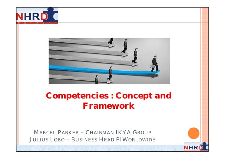 Competencies : Concept and           Framework MARCEL PARKER – CHAIRMAN IKYA GROUPJULIUS LOBO – BUSINESS HEAD PIWORLDWIDE