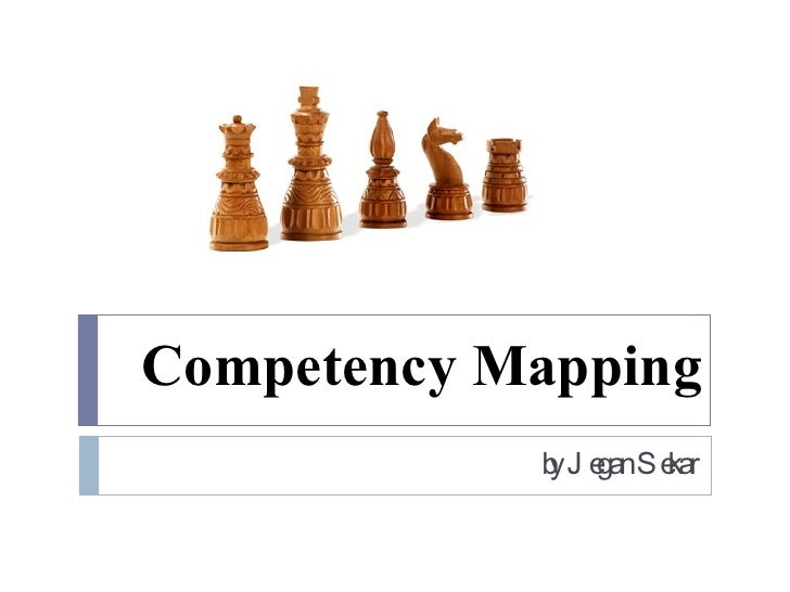 Competency Mapping by Jegan Sekar