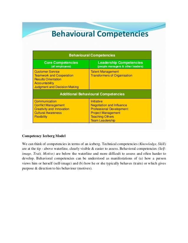 Accountability Competencies