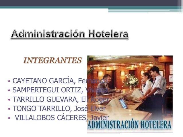 INTEGRANTES • CAYETANO GARCÍA, Fernando • SAMPERTEGUI ORTIZ, Viviana • TARRILLO GUEVARA, Elí Roger • TONGO TARRILLO, José ...