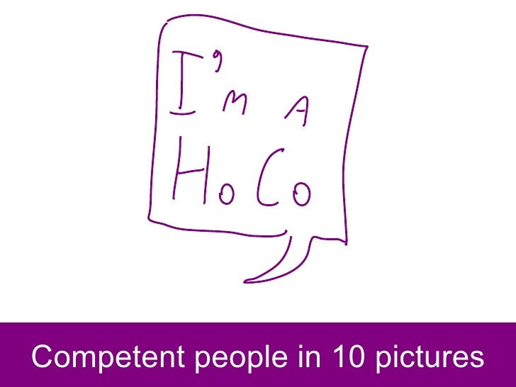 Competent people in 10 pictures