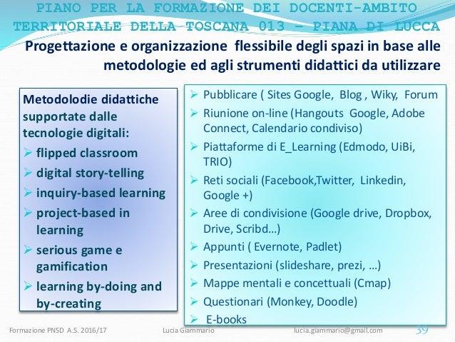 Metodologie Didattiche Innovative Flipped Classroom ~ Competenze digitali e nuovi ambienti di apprendimento