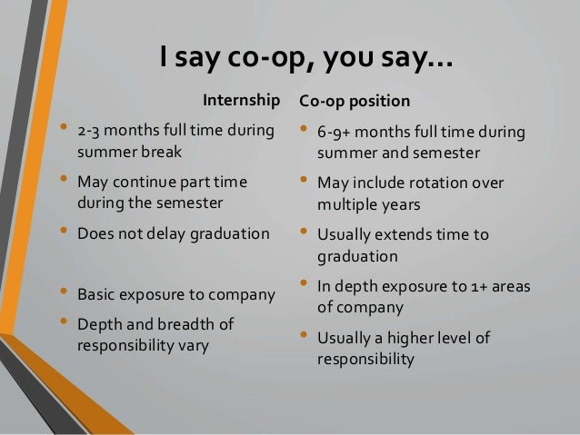 Co Op Internship >> Competing With Co Ops Providing Affordable International Opportuniti