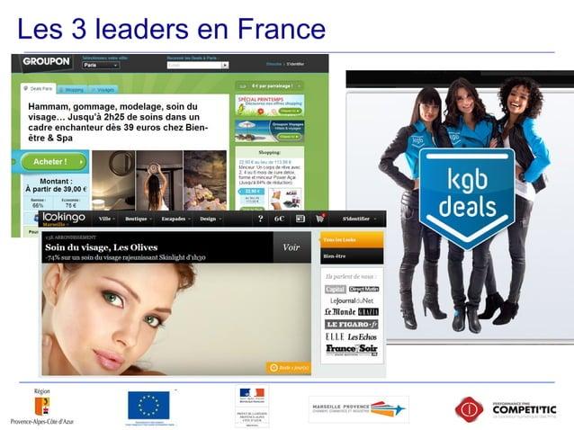 Les 3 leaders en France