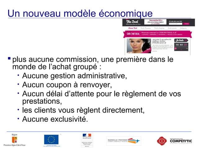 Un nouveau modèle économique  plus aucune commission, une première dans le monde de l'achat groupé : • Aucune gestion adm...