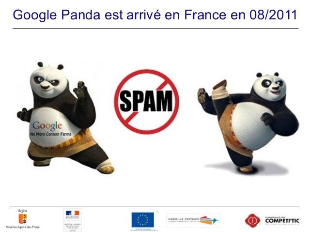  Google Panda est le nouvel algorithme défini par Google pour ne proposer à ses internautes que des sites de bonne qualit...