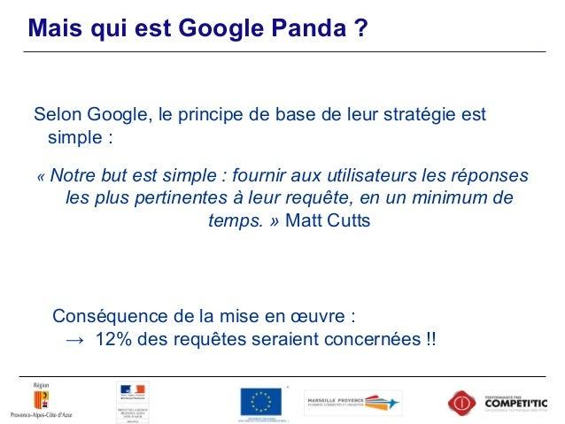 Ex : Qui sont les perdants ? Source : http://www.accessoweb.com/Les-premiers-ravages-de-Google-Panda-en-France_a9609.html