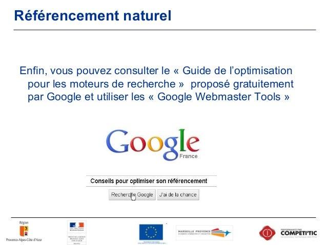 """Référencement naturel On trouve dans les recommandations de Google : Il faut """"créer du contenu avant tout pour vos utilisa..."""