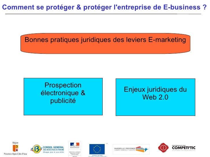 Bonnes pratiques juridiques des leviers E-marketingBonnes pratiques des Techniques E-MarketingProspection par e-mail   Pri...