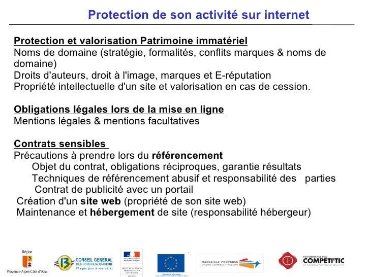 Comment se protéger & protéger lentreprise de E-business ?        Points de vigilance gestion activité sur Internet       ...