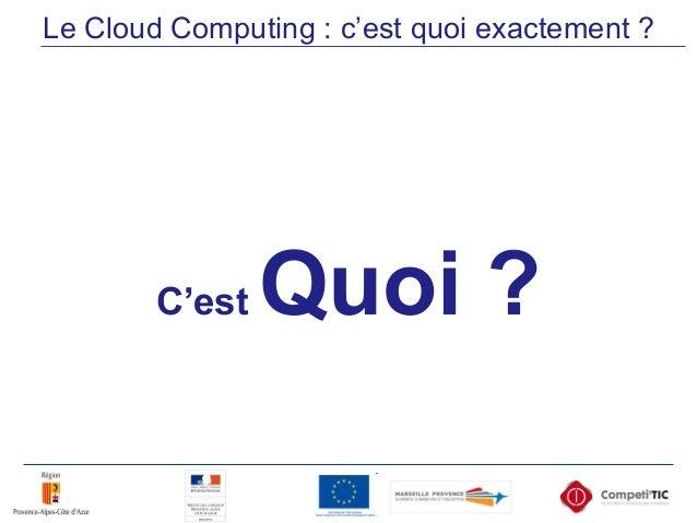 Competitic  cloud - numerique en entreprise Slide 3