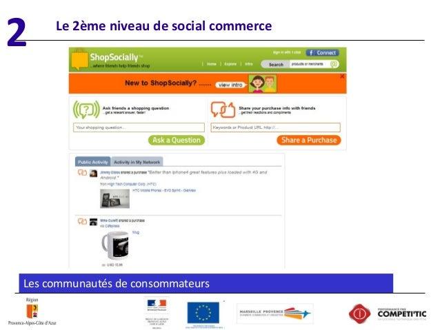 Les communautés de consommateurs Le 2ème niveau de social commerce 2