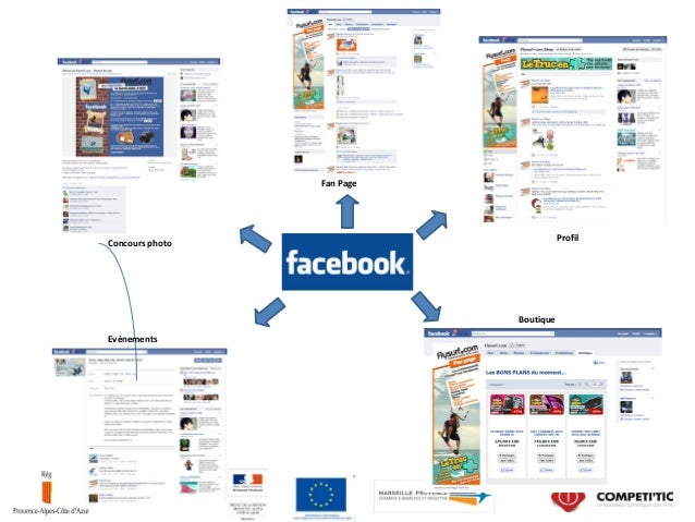 Concours photo Evènements Profil Fan Page Boutique
