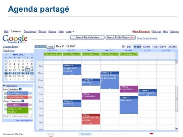 Google Agenda Sur Le Bureau