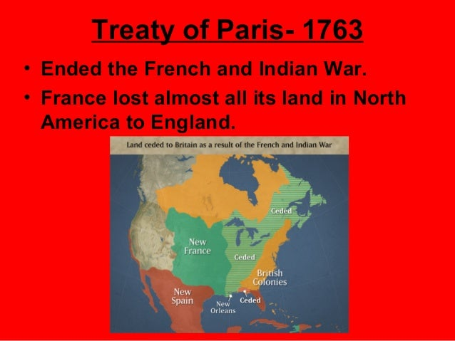 the events after the french and indian war Though most of the events in the french and indian war took place  sense of  independence from britain that would continue to build after the war was over.