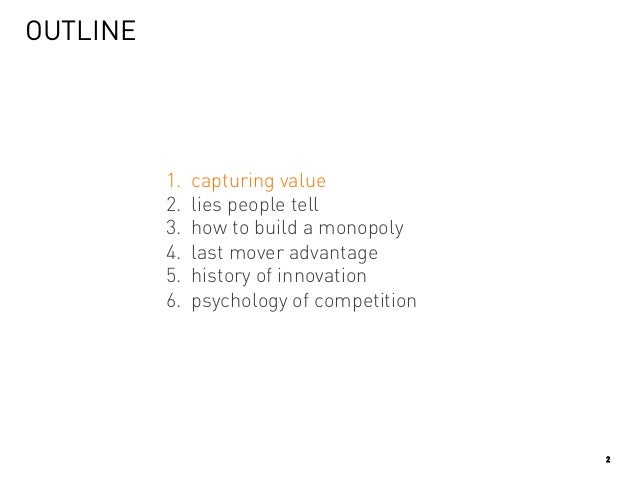 Y Combinator Startup Class #5 : Competition is for losers Slide 2