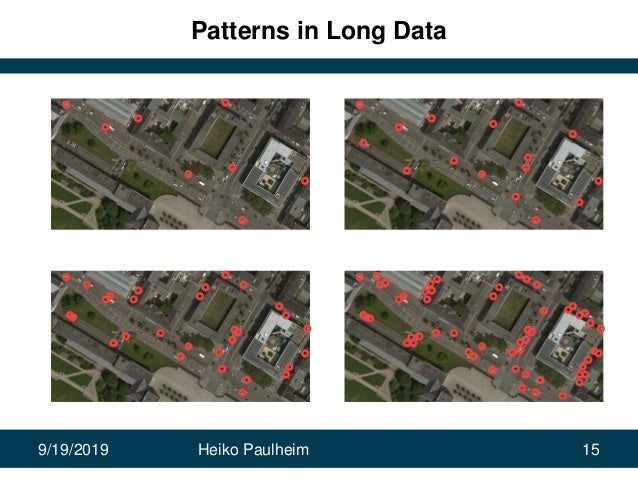 9/19/2019 Heiko Paulheim 15 Patterns in Long Data