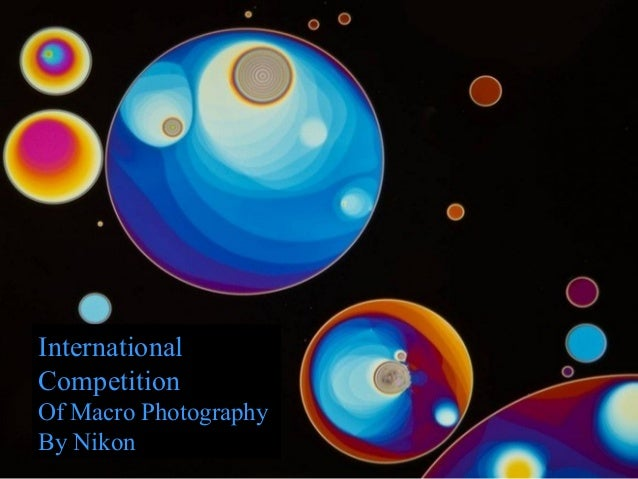 International Competition Of Macro Photography By Nikon