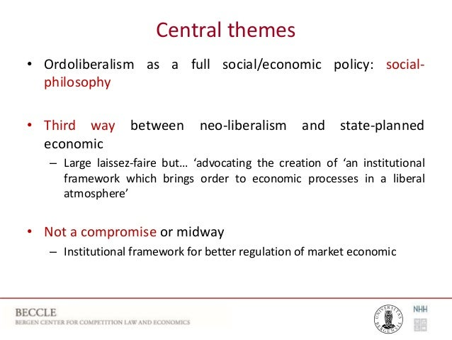 Ordoliberalism & Competition Law