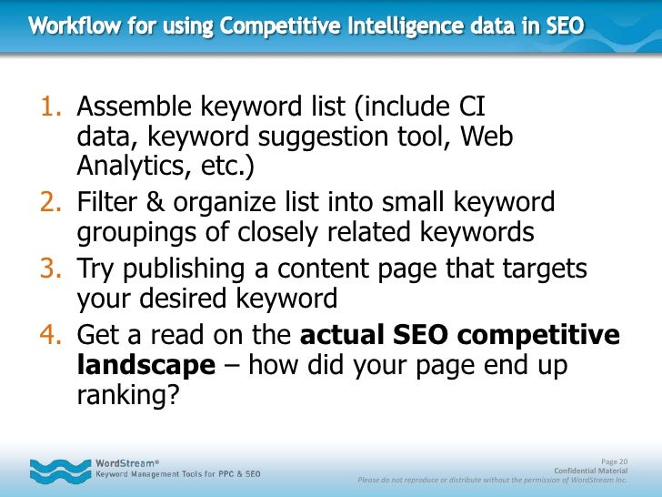 """Targeting More-specific (Less Competitive) Keyword Niches<br /><ul><li>Typical """"Head Term"""""""