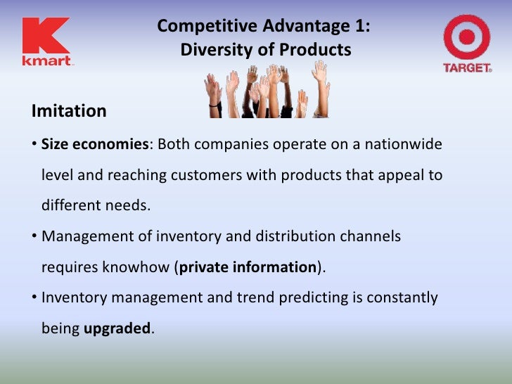 strategy analysis target vs kmart dan Industry analysis the retail industry  wal-mart competes against kmart and target in the general merchandise  wal-mart's multi-country strategy, .
