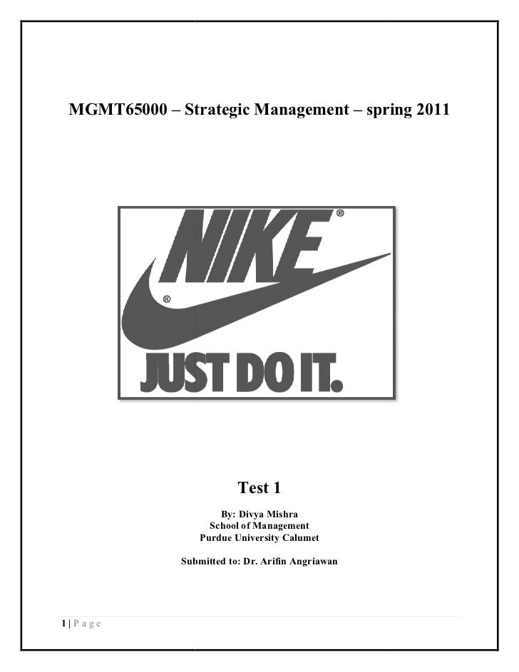 Nike, Competitive Advantages