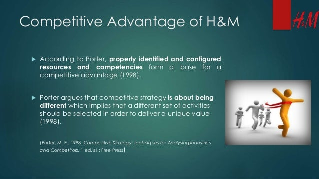 the unique competitive advantage of hp How you utilize speed may be different than the next company, but it's critical that you spend some time and energy thinking about it.