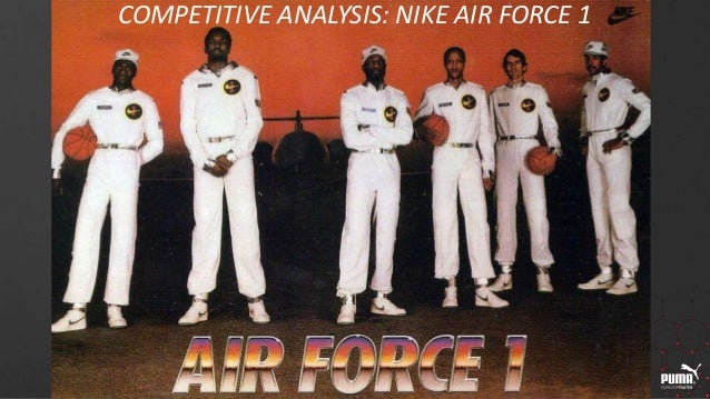 54579bfd78 Competitive analysis - Nike Air Force 1